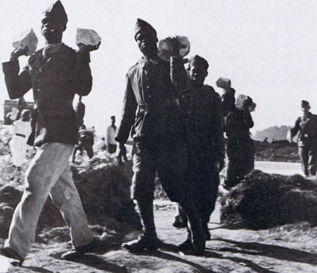 Prisonniers français au Fronstalag 222 de Beyris 1941/1944